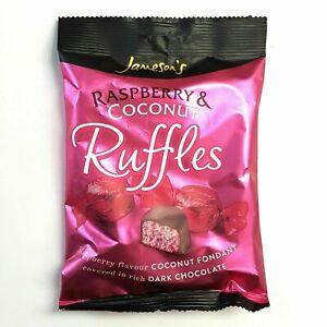 1 x JAMESONS RASPBERRY RUFFLES  BAGS Vegetarian  Free Chocolates Birthday