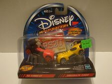 Disney Wild Racers MI Turbo GT & Hightailin Turbo Partner Pack1:64 Diecast C40-6