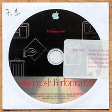 VINTAGE • APPLE • MACINTOSH PERFORMA 630 • CD INSTALLATION • OS 7.1 • 1994