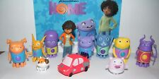 Dreamworks Home Movie Figure Set of 12 with Tip, Oh, Kyle, Cptn Smek, Space Car