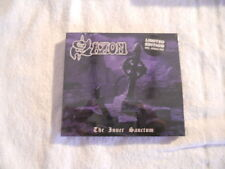 """Saxon """"The Inner Sanctum"""" 2007 cd & DVD Limited edition  NEW Sealed"""