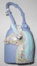 Bath & and Body Works Light-up Lighted PocketBac Holder Purple Glitter Unicorn