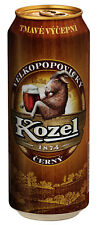 6 x Kozel schwarz 500ml Büchse -  Velkopopovický Kozel černé výčepní pivo plech