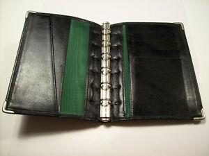 Vintage Succes Leather Agenda Planner Cover Organizer 6 Rings Tight Junior