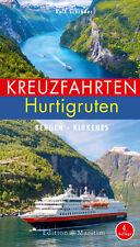 Kreuzfahrten Hurtigruten Bergen - Kirkenes Kreuzfahrt-Führer Norwegen Buch NEU