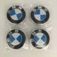 4x BMW Emblem Logo Badge Metal Hub Wheel Rim Center Cap 68mm Fit All