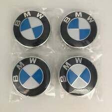 BMW WHEEL HUB CAPS Trims SET OF 4 Centre Alloy Cap 68MM 1 3 5 7 E F M X Z Series