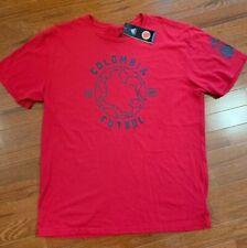 $32 Adidas Colombia Futbol Men's Sz Large Tri-Blend Soccer T-Shirt Tee Red Nwt