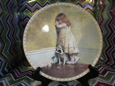"""Charles Burton Barber Plate Collection: The Original """"In Disgrace"""" Plate Fantast"""