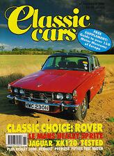 Classic Cars Nov 1990 -  Le Mans Healey Sprite,  Rover P6, Jaguar XK120,