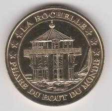 -- 2007 COIN TOKEN JETON MONNAIE DE PARIS -- 17 000 LA ROCHELLE PHARE DU BOUT...