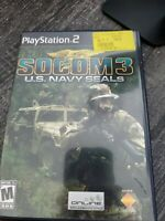 SOCOM 3: U.S. Navy SEALs COMPLETE GAME for your Playstation 2 PS2 Tested CIB