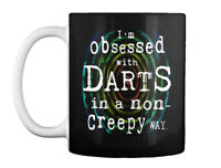 Non-creepy Darts Gift Coffee Mug