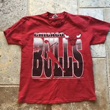 Vintage Red Chicago Bulls NBA T-shirt