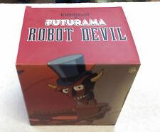 "FUTURAMA KIDROBOT - ROBOT DEVIL - 6"" SIX INCH FIGURE - NEVER OPENED / RARE !!"