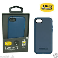 Genuine OtterBox Symmetry ShockProof Slim Case Cover for iPhone 7/8 - Blue NEW