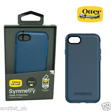Genuine OtterBox Symmetry ShockProof Slim Case Cover for iPhone 7 - Blue NEW
