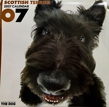 SCOTTISH TERRIER PUPPIES 2007 Wall Calendar The Dog Photographs Scottie Pictures