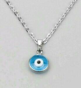 Mini Nazar Boncuk Blaue Auge Anhänger Mit Halskette Schmuck