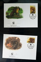 Worldwide WWF World Wildlife Fund Cachet Unaddressed First Day Cover Collection