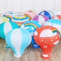 New Fashion 12'' Hot Air Balloon Paper Lantern Xmas Birthday Wedding Party Decor