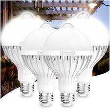 1-4pcs LED PIR Motion Sensor Light Bulb E27 15W Infrared Auto Energy Saving Lamp