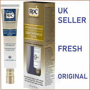 *UK* RoC Retinol Correxion Deep Wrinkle Filler Cream Anti-Wrinkle Serum Night