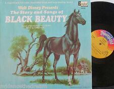 WALT DISNEY BLACK BEAUTY ~ Story & Songs ~ GF VINYL LP USA PRESS & BOOKLET