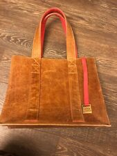 Soul carrier Tote Bag Brown Coral Large
