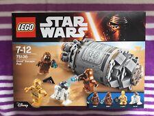 NEU+OVP LEGO 75136 Star Wars DROID ESCAPE POD New! Ungeöffnet!