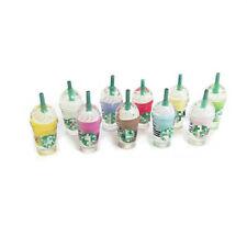 10Pcs Dollhouse Frappuccino Coffee Cups 1:6 Miniature Model Decor Mixed Color