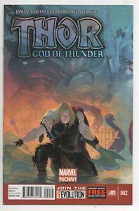 Thor God of Thunder #2 First Gorr + Necrosword Comic!! Marvel 2013 VF/NM
