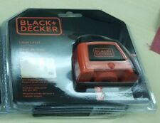 Black & Decker BDL220S Laser Level with rotating wall attachment, New Packaging