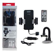 Trasmettitore FM carica batterie auto stand supporto per iPhone 3G 3GS IPOD