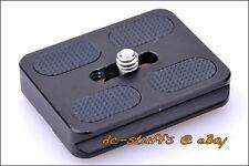 Benro PU50 Universal Quick Release Plate fit Tripod Ball Head MeFoto ArcaSwiss
