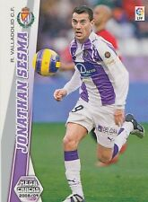 N°337 JONATHAN SESMA # VALLADOLID.CF TRADING CARD PANINI MEGA CRACKS LIGA 2009