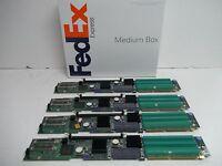 (4) Dell PowerEdge 2850 Server PCI-X Riser Perc 4 Raid Contoller Board GJ871