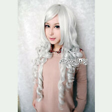 Fancy Stylish Angel Sanctuary-Rosiel Long Curly 80cm White Cosplay Hair Wig