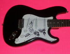 KIX x5 ENTIRE BAND SIGNED AUTOGRAPHED ELECTRIC GUITAR *EXACT PROOF*