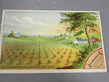 Trade Card for Richmond Check Rower / Row Planter
