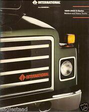 Truck Brochure - International - 1600-2600 S-series Medium Heavy Duty (TB857)
