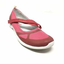 Women's Merrell Ceylon Sport Mary Jane Loafers Shoes Size 8.5 Pink Maroon H1