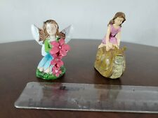 Vintage Mystical Figures fairy snail girls