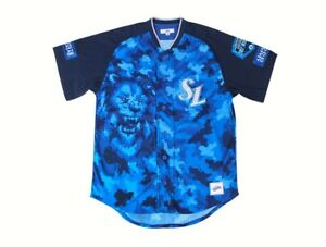 Samsung Lions Jersey 2020 Professional Military Blue Uniform KBO Korea Baseball