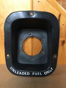AMC Jeep CJ CJ5 CJ7 CJ8 Factory Unleaded Fuel Gas Bezel Original Oem Vintage USA