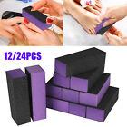 12PCS Sanding Nail File Buffer Block Art Manicure Pedicure Finger Polish Shiner