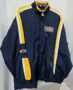 New Super Bowl 1998 Windbreaker/Jacket  San Diego CA NFL Sz XL