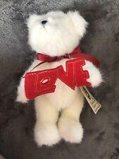 "Boyds Bears Adora U. Bear 8"" Love Bear stuffed plush new w/tags"