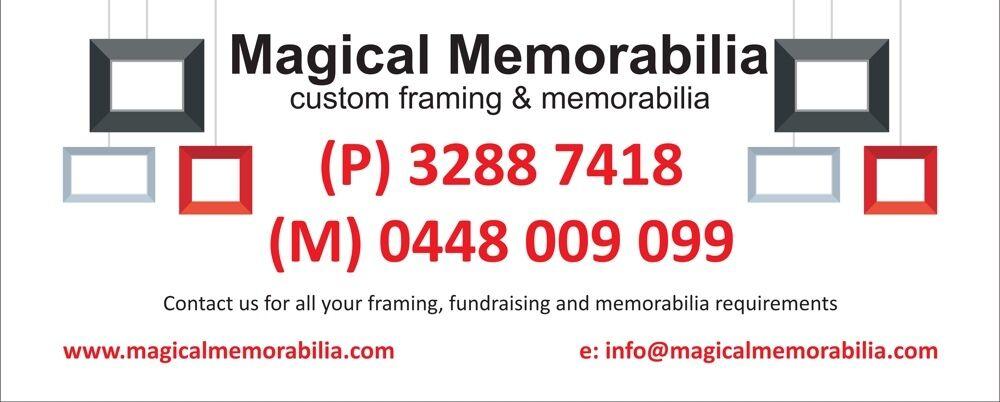 Magical Memorabilia Custom Framing