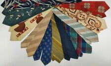 Vintage Neckties Lot 11 1940s 1950s 1960s Rhodia Brickers Arrow Botany Wembley